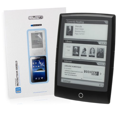 Cover-Up Anti-Glare Clear Screen Protector / Displayschutz für Bookeen Cybook Odyssey eReader