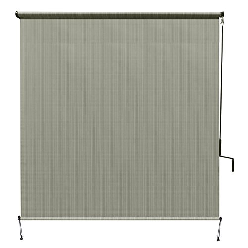Radiance 2320004 Premium Cordless Roller Exterior Solar Shade With 92 Uv Ray Protection 8 Foot