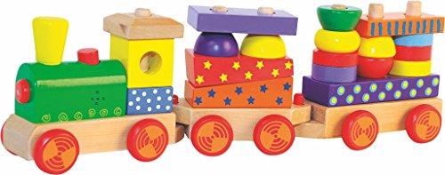 Woodyland-43-x-135-cm-didctico-juguetes-Tren-de-carga-con-el-sonido-impresos-bloquea-la-luz-y-20-piezas