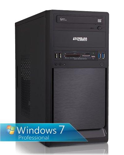 Ankermann-PC Coolboy – Intel Core i5-4690 4x 3.50GHz – onBoard Graphic DVI-HDMI-VGA – 4 GB DDR3 RAM – 500 GB Festplatte – Graveur-DVD – Windows 7 Professional 64 Bit – Card Reader – EAN 4260219655491