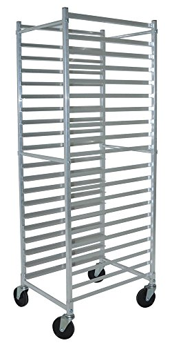Front Load Bun Pan Rack Square Top, Bakery Racks, NSF Certified, Commercial, Restaurant, Dolly