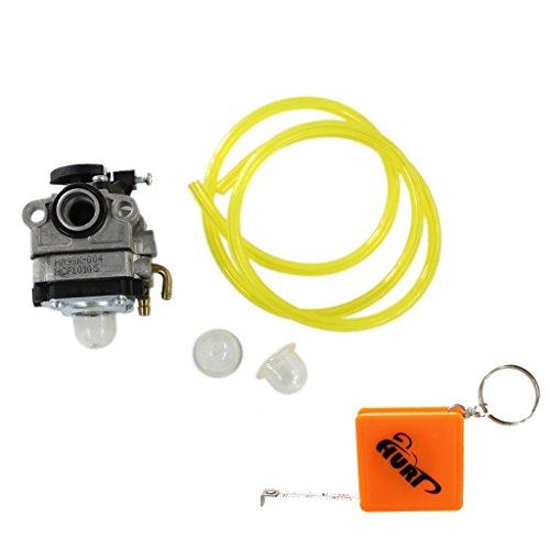 HURI Carburetor Fuel Line with Primer Bulb for Walbro WYL-19-1 WYL-19 WYL-229 WYL-229-1 Troy-Bilt TB575SS TB590BC TB146EC Shindaiwa T230 T230X T230XR-EMC Gas Trimmer