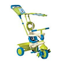 Smart Trike Safari Tricycle Color: Blue-Green Bear