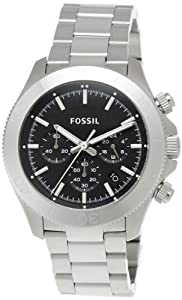 FOSSIL CH2848 Retro Traveler Chronograph Stainless Steel Watch