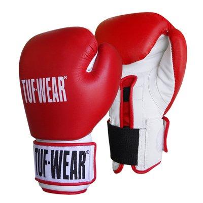 Tuf-Wear Gym Safety Sparring Glove - Red/White, 20oz from Tuf-Wear