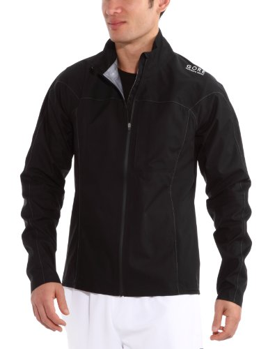 Gore Air Running Wear Men's/Unisex Jacket Gore-Tex Active Shell - Black, M