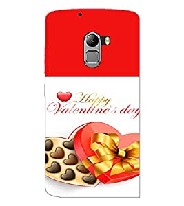 PrintDhaba Valentines Day D-4727 Back Case Cover for LENOVO K4 NOTE A7010 (Multi-Coloured)