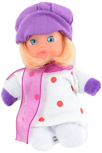 Stork Babies Carisa White and Red Spots Doll