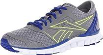 Reebok Footwear Womens RealFlex Speed 2.0 Running Shoe,Flat Grey/Blue Move/Neon Yellow/White,8.5 M US