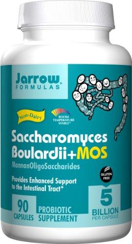 Jarrow Formulas Sacharomyces Boulardii & Mos, 90 Capsules