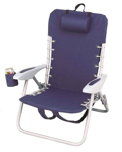 Rio Brands Lace Up Aluminum Backpack Chair - Sc529