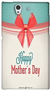 Timpax protective Armor Hard Bumper Back Case Cover. Multicolor printed on 3 Dimensional case with latest & finest graphic design art. Compatible with Sony L36H - Sony 36 Design No : TDZ-24275