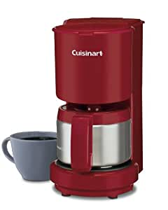 Cuisinart 4 Cup Coffee Maker In Red : Amazon.com: Cuisinart DCC-450R 4-Cup Coffeemaker with Stainless Steel Carafe, Red: Drip ...