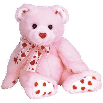 TY Classic Plush - BLUSHING the Bear - 1