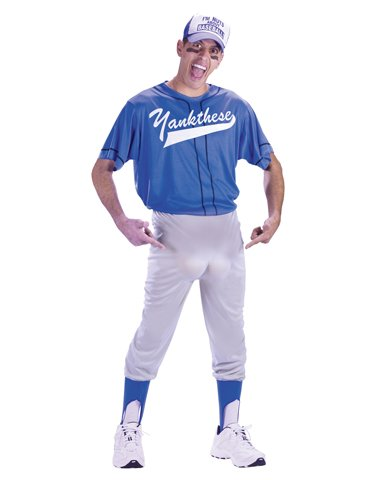 Baseball Nut Costume