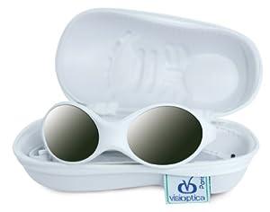 Visioptica Kids Camaro Duo - Gafas de sol para bebé, de 0 a 6 meses, color blanco y azul - BebeHogar.com