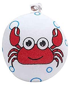 Baby Bucket Baby Bucket Tom Tom high quality super soft infant bath sponge baby bath lovely Crab design soft newborn super cute cotton body shower cleaning comfortable shower baby care new design
