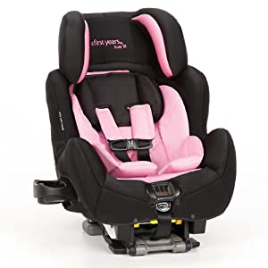 The First Years True Fit SI C680 Car Seat, Pop of Pink
