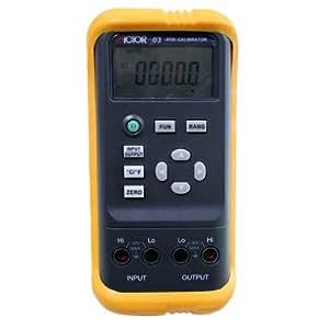 VICTOR 03 Calibrateur thermorésistance portable Testeur mesureur de résistance Auto Gamme 5-chiffre Grand écran LCD