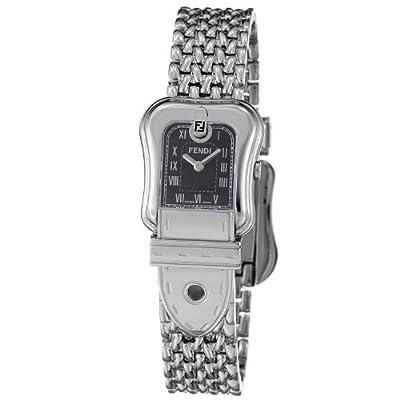Fendi B. Fendi Ladies Stainless Steel Black Dial Watch F386210 from Fendi