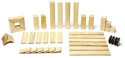 Tegu Magnetic Wooden Block Set 42 Piece, Natural For Sale