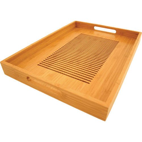 Totally Bamboo Lattice Tray, 14 by 19-Inch