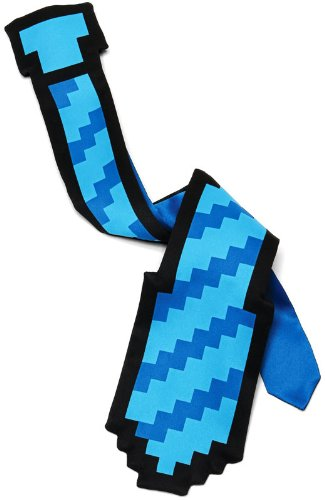 Think Geek 8 Bit 20″ Tie Blue