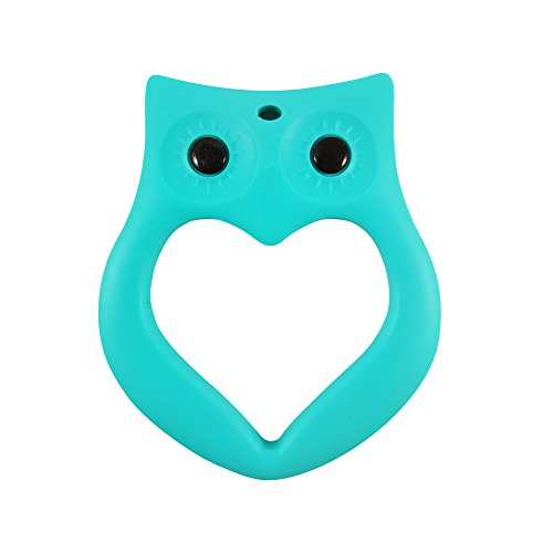 Lil' Teethers Baby Teething Toys. Bendable & Freezer friendly. Highly Recommended by Moms. 100% Silicone (similar to nipples & pacifiers), BPA & Phthalates Free, FDA Compliant. Owl