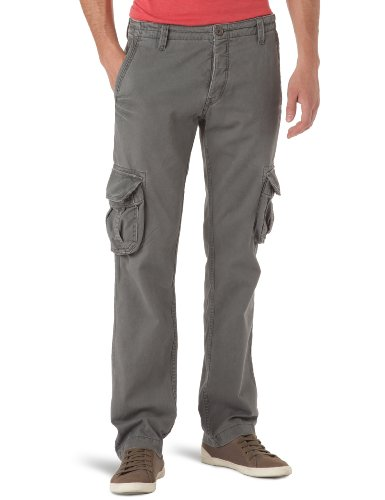 Rip Curl Derick Cargo Loose Men's Trousers Charcoal Grey W32INxL33IN