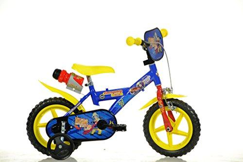 12-Zoll-Kinderfahrrad-Feuerwehrmann-Sam-Fireman-Sam-Kinderrad-Fahrrad-Spielrad-Kinder-fahrrad
