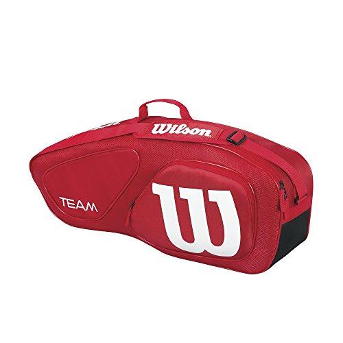 wilson-team-ii-3pk-bag-rd-bolsa-color-rojo-talla-unica