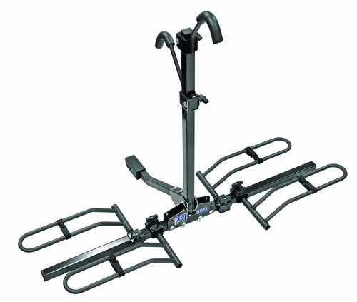 Pro Series 63134 Q-Slot 2 Black 2-Bike Hitch Mounted Bike Carrier
