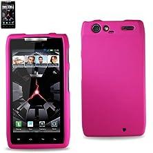 buy Reiko Premium Durable Protective Case For Motorola Droid Razr Xt912 - 1 Pack - Retail Packaging - Hot Pink
