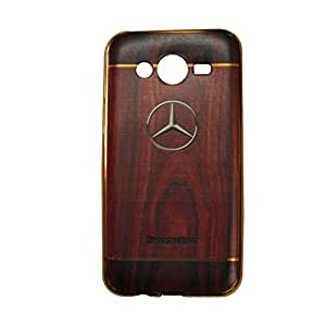 AROMA WOODEN TEXTURE BACK COVER FOR SAMSUNG J7