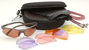 SunBuster Maverick 5 Lens Sports Sunglass Set