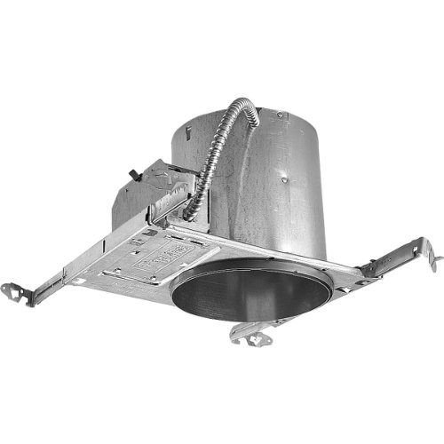 Progress Lighting P87-At Unit Can Be Installed In Ceilings From 1/2-Inch To 1-1/2-Inch Thick Heavy Duty Mounting Frame, Full Reflector Design, Ul/Cul Listed For Damp Locations