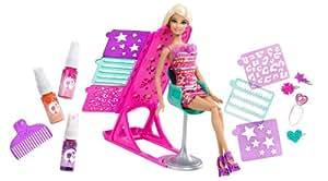 Barbie X2345 - Peluquería Color Y Diseño (Mattel)