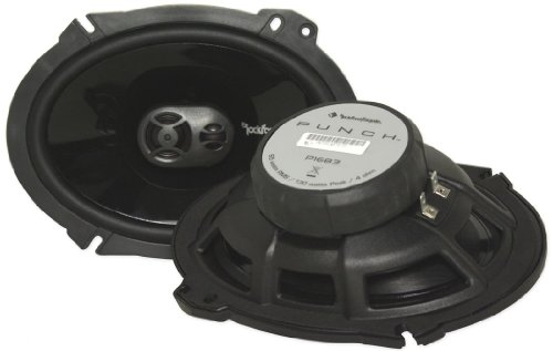 "New Rockford Fosgate 6X8"" 3-Way Car Stereo Speakers"