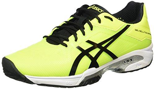 Asics Gel-Solution Speed 3, Scarpe da Ginnastica Uomo, Giallo (Safety Yellow/Black/White), 44 1/2 EU