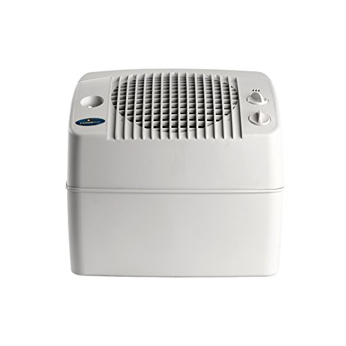 AIRCARE E35 000 2-Speed Tabletop Evaporative Humidifier, White - 1