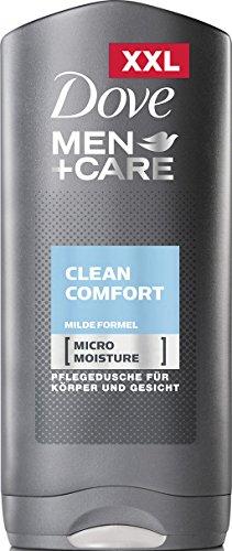 Dove Man Care - Bagno Schiuma Clean Confort 400 ml [Confezione da 3]