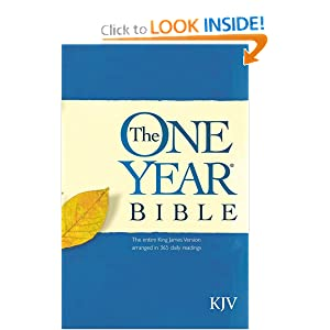 The One Year Bible KJV Tyndale