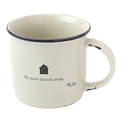 Hallmark Home Distressed Oversized Enamel Camp Mug