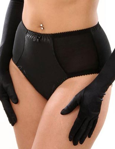 What Katie Did Maitresse Black Satin Knickers