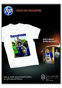 HP Papier Transferts sur T-shirt