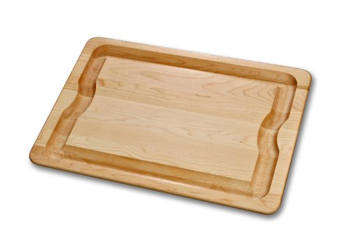 J.K. Adams 20-Inch-By-14-Inch Sugar Maple Wood Barbeque Carving Board