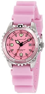 Momentum Women's M1 Pink Interchangeable Strap Dive Watch Set
