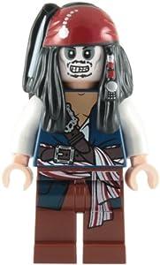 LEGO Pirates of the Caribbean: Captain Jack Sparrow (Skeleton) Minifigure