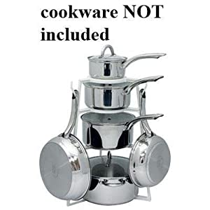 Kitchen Storage Ideas on Storage Shelves Designed To Hold 14 Pieces Of Cookware  Kitchen
