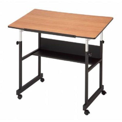 MiniMaster II Drafting Table (Black/WoodGrain)